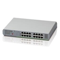 Allied-Telesis 990-004859-50 - 16 Port 10/100/1000Tx Unmanaged Switch With Internal Power Supply Eu Power Adapter, Config
