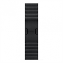 Apple MJ5H2ZM/A - 38Mm Space Black Link Bracelet - Material: Acero; Color Primario: Negro; Tamaño De Caja: 3
