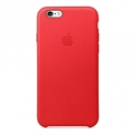 Apple MKXX2ZM/A - Iphone 6S Leather Case (Product)Red - Tipología Específica: Proteger Teléfono; Material: P