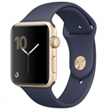 Apple MQ132QL/A - Apple Watch Series 2 38Mm Gold Aluminium Case With Midnight Blue Sport Band - Tamaño Panta