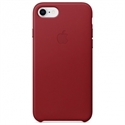 Apple MQHA2ZM/A - 8Leather Case - (Product)Red - Tipología Específica: Cover Iphone; Material: Piel; Color P