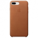 Apple MQHK2ZM/A - 8 Plus Leather Case - Saddle Brown - Tipología Específica: Cover Iphone; Material: Piel; C