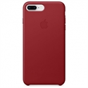 Apple MQHN2ZM/A - 8 Plus Leather Case - (Product)Red - Tipología Específica: Cover Iphone; Material: Piel; C