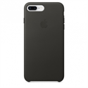 Apple MQHP2ZM/A - 8 Plus Leather Case - Charcoal Gray - Tipología Específica: Cover Iphone; Material: Piel;