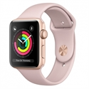 Apple MQKW2QL/A - Apple Watch Series 3 GPS, 38mm Gold Aluminium Case with Pink Sand Sport Band