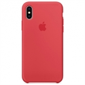 Apple MRG12ZM/A - X Silicone Case - Red Raspberry - Tipología Específica: Cover Iphone; Material: Silicona;