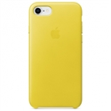 Apple MRG72ZM/A - 8 / 7 Leather Case - Spring Yellow - Tipología Específica: Cover Iphone; Material: Piel; C