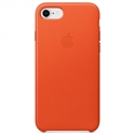 Apple MRG82ZM/A - 8 / 7 Leather Case - Bright Orange - Tipología Específica: Cover Iphone; Material: Piel; C