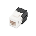 Assmann DN-93603 - Cat 6 Keystone Jack, Unshielded Rj45 To Lsa, Tool Free Connection, Incl. Cable Tie White -