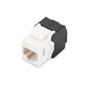 Assmann DN-93606 - Cat 6A Keystone Jack, Unshielded Rj45 To Lsa, Tool Free Connection, Incl. Cable Tie White