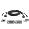 Belkin F3X1962-06 - Cable Kvm Serie Pro2 Omniview Usb - 1 8M - Tipología: Kvm; Tipología Conector A: Usb 2.0 T