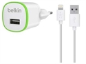 Belkin F8J025VF04-WHT - Home Charger 1A Bundle White