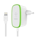 Belkin F8J204VF06-WHT - Home Charger W/Wired Ltg Cbl 12W - Tipología Específica: Cargador; Material: Plástico; Col