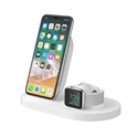 Belkin F8J235VFWHT - Charge Dock For Apple Watch Iph Wh - Tipología Específica: Cargador; Material: Plástico; C