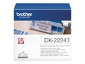 Brother DK22243 - Cinta De Papel (Blanca) Brother 102 Mm X 30 48M Solo Para Q-1050/N - Tipología: Cinta; Col