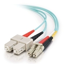 C2g 85531 - C2G LC-SC 10Gb 50/125 OM3 Duplex Multimode PVC Fiber Optic Cable (LSZH) - Cable de red - m
