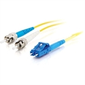 C2g 85542 - C2G LC-ST 10Gb 50/125 OM3 Duplex Multimode PVC Fiber Optic Cable (LSZH) - Cable de red - m