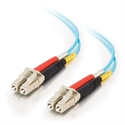 C2g 85550 - C2G LC-LC 10Gb 50/125 OM3 Duplex Multimode PVC Fiber Optic Cable (LSZH) - Cable de red - L