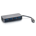 C2g 89053 - C2G USB 3.0 USB-C To 4-Port USB-A - Hub - 4 x SuperSpeed USB 3.0 - sobremesa