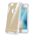 Celly ARMORMIR801GD - Armor Mirror Cover Ip7-8 Plus Gd - Material: Tpu; Color Primario: Dorado; Color Secundario