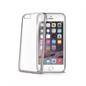 Celly BCLIP6SSV - Laser Cover Iphone 6/6S Plateada - Material: Tpu; Color Primario: Plata; Color Secundario: