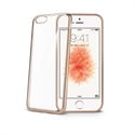 Celly BCLIPSEGD - Cover Laser Iphone 5/5S/Se Dorado - Material: Tpu; Color Primario: Dorado; Color Secundari