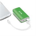 Celly PB4000GN - Power Bank 4000 Mah Green - Color Primario: Verde; Batería: 4.000 Mah; Voltaje De Salida: