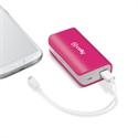 Celly PB4000PK - Power Bank 4000 Mah Pink - Color Primario: Rosa; Batería: 4.000 Mah; Voltaje De Salida: 5