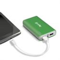 Celly PB6000GN - Cargador Power Bank Verde 6000 Mah 2P Usb 2A - Color Primario: Verde; Batería: 6.000 Mah;
