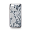Celly SNAKECIPH6PNP - Carcasa Cover Nature Snake Ip6 P - Material: Piel; Color Primario: Gris; Color Secundario: