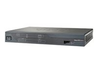 Cisco C881-K9 Cisco 881 Ethernet Security - Router - conmutador de 4 puertos
