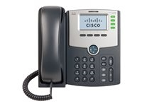 Cisco SPA504G Cisco Small Business SPA 504G - Teléfono VoIP - SIP, SIP v2, SPCP - multilínea - plata, gris oscuro - para Small Business Pro Unified Communications 320 with 4 FXO