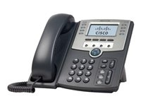 Cisco SPA509G Cisco Small Business SPA 509G - Teléfono VoIP - SIP, SIP v2, SPCP - multilínea - plata, gris oscuro - para Small Business Pro Unified Communications 320 with 4 FXO