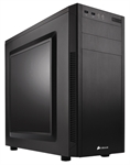 Corsair CC-9011075-WW - Corsair Carbide 100R. Factor de forma: Midi-Tower, Tipo: PC, Materiales: Acero. Diámetro d