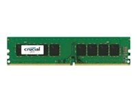 Crucial CT8G4DFD824A 8Gb Ddr4 2400 Pc4-19200 Cl17 Dimm - Capacidad Total: 8 Gb; Frecuencia (Bus Clock Rate): 2.400 Mhz; Tecnología: Ddr4 Tft; Kit: No; Tipología: Udimm; Generica: Sí