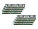 Crucial CT8KIT102472AF667 - Crucial - DDR2 - 64 GB: 8 x 8 GB - FB-DIMM 240-pin - 667 MHz / PC2-5300 - CL5 - 1.8 V - Bú