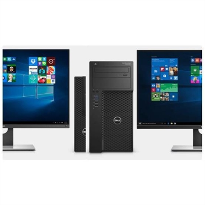 Dell 6J3M1 ES/BTP/Preci T3620/Xeon E3-1225 v5/8GB/1TB/Intel HD P530/DVD RW/Kb/Mouse/W10Pro/vPro/1Y PS NBD