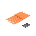 Diatone DT-PC5030R-O - Pack 4 Helices Diatone Dron Tyrant 5030R Naranja Con Adaptadores