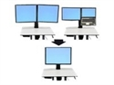 Ergotron 97-607 - Ergotron WorkFit-C Convert-to-Single HD Kit from Dual or LCD & Laptop - Componente para mo