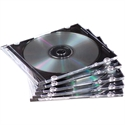 Fellowes 98316 - Pack 25 Cajas Cds Slim Transparent - Tipologia: Sobres Porta Cd/Dvd; Unidades De Venta: Pa