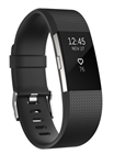 Fitbit FB407SBKL-EU - Fitbit Charge 2. Tipo de dispositivo: Wristband activity tracker, Color del producto: Negr