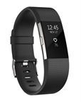 Fitbit FB407SBKS-EU - Fitbit Charge 2. Tipo de dispositivo: Wristband activity tracker, Color del producto: Negr