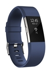 Fitbit FB407SBUS-EU - Fitbit Charge 2. Tipo de dispositivo: Wristband activity tracker, Color del producto: Azul