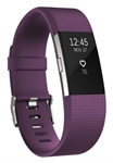 Fitbit FB407SPML-EU - Fitbit Charge 2. Tipo de dispositivo: Wristband activity tracker, Color del producto: Púrp