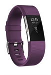 Fitbit FB407SPMS-EU - Fitbit Charge 2. Tipo de dispositivo: Wristband activity tracker, Color del producto: Púrp
