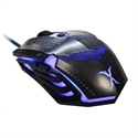 Fox FXR-BMP-25 - RATON OPTICO FOX XRAY FXR-BMP-25 GAMING + ALFOMBRI 2400 DPI  NEGRO