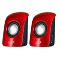 Genius 31731006101 - Altavoz Sp-U115 1.5W Usb Powered Red - Color Principal: Rojo; Wireless: No