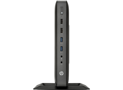 Hp F5A50AT#ABE HP Flexible t620 - Thin client - torre - 1 x GX-217GA 1.65 GHz - RAM 4 GB - SSD 16 GB - Radeon HD 8280E - GigE - HP ThinPro - monitor: ninguno - promoción