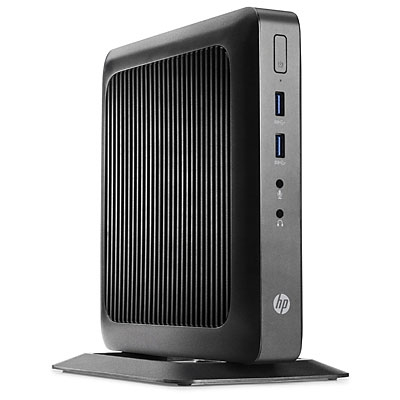 Hp G9F08AA#ABE HP Flexible Thin Client t520 - Thin client - torre - 1 x GX-212JC 1.2 GHz - RAM 4 GB - SSD 16 GB - GigE - Win Embedded Standard 7E 32 bits - monitor: ninguno