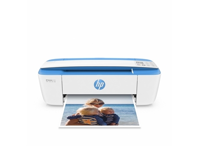 Hp J9V93B#BAW Deskjet 3720 All-In-One Printer - Formato: A4; Impresión: Sí; Copia: Sí; Fax: No; Escaneo: Sí; Velocidad De Impresión Color Normal: 6,00 Ppm; Máx. Velocidad Copia Color: 3,50 Ppm